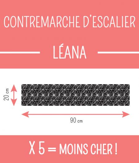 Taille : CONTREMARCHE D'ESCALIER LÉANA