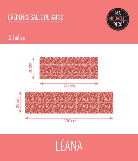 TAILLES : CRÉDENCE SALLE DE BAINS LÉANA