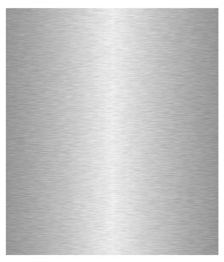 Crédence de cuisine adhésive Aluminium brossé