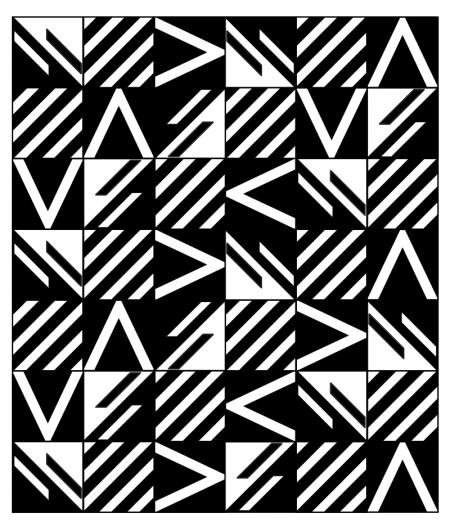 CRÉDENCE DE CUISINE ANGÈLE détail motifs carreaux de ciment