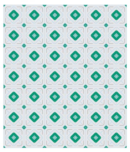 Crédence carreaux de ciment ÉLISA