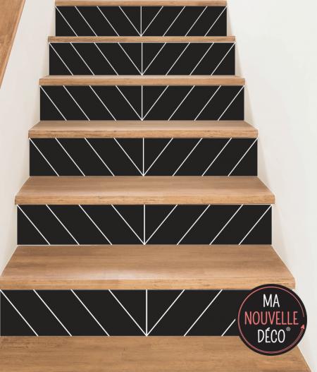 contremarche d'escalier EVA style 4