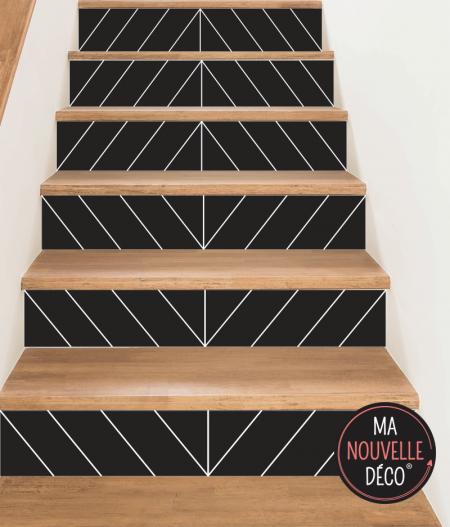 contremarche d'escalier EVA style 3