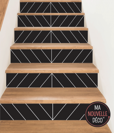 contremarche d'escalier EVA style 2